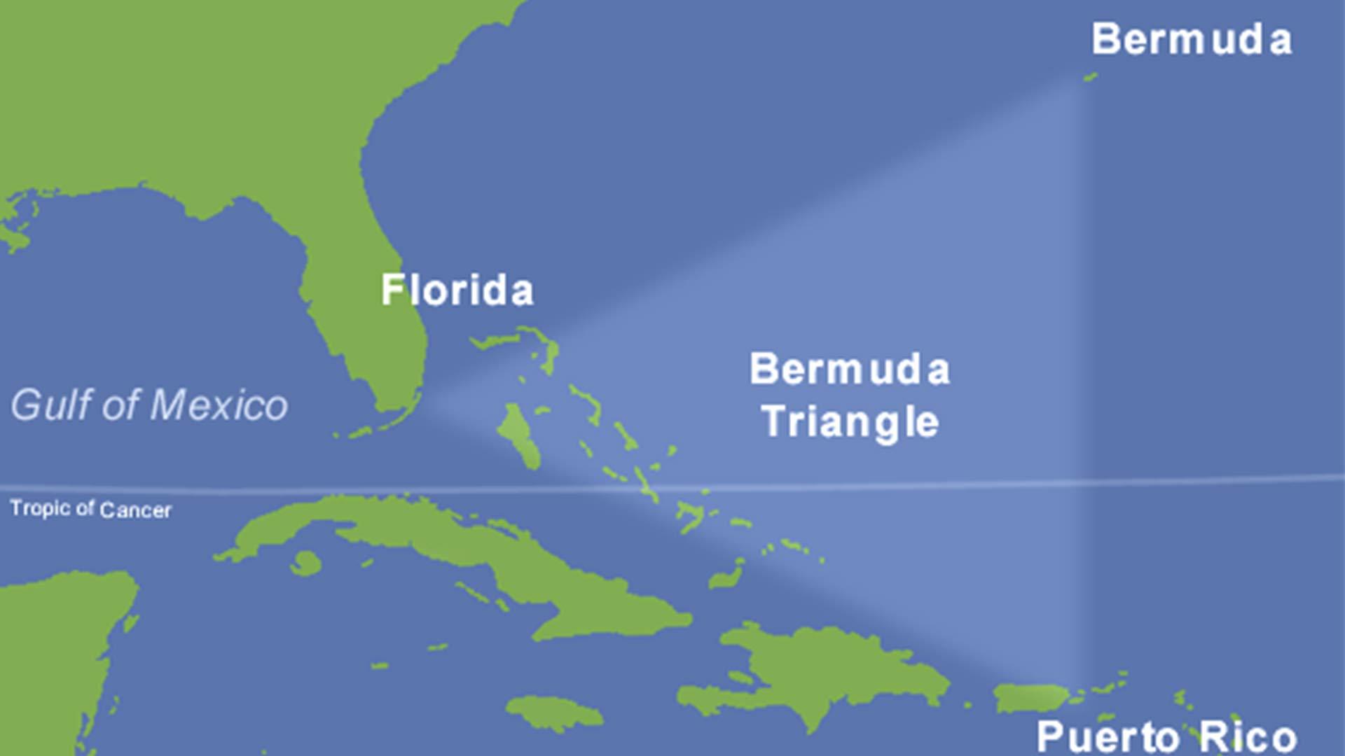Triangolo del Diavolo nell Oceano Pacifico